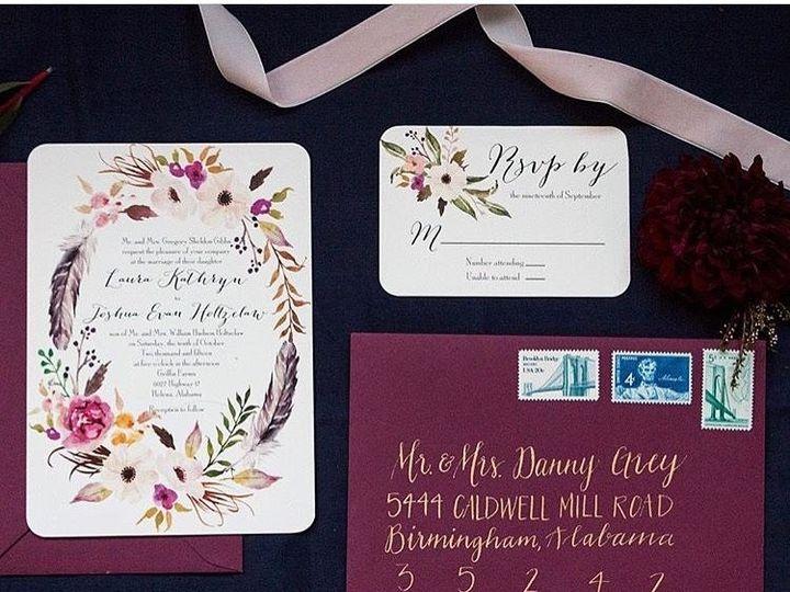 Tmx 1474558415278 011 Birmingham, Alabama wedding invitation