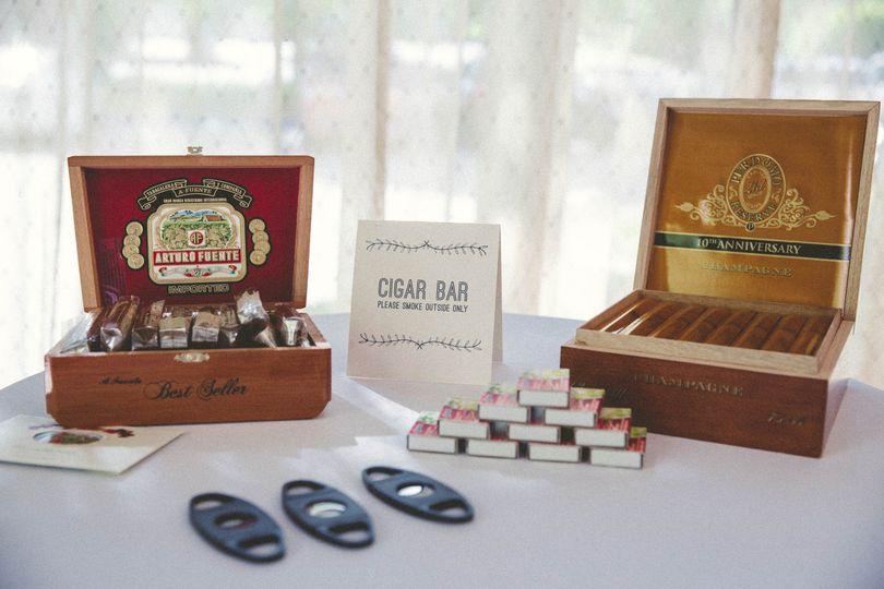 Cigar Bar.
