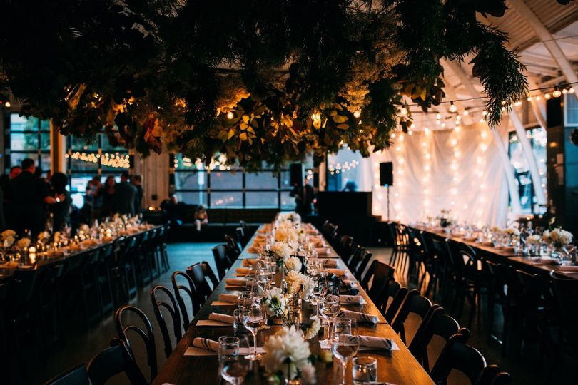 Canopy wedding