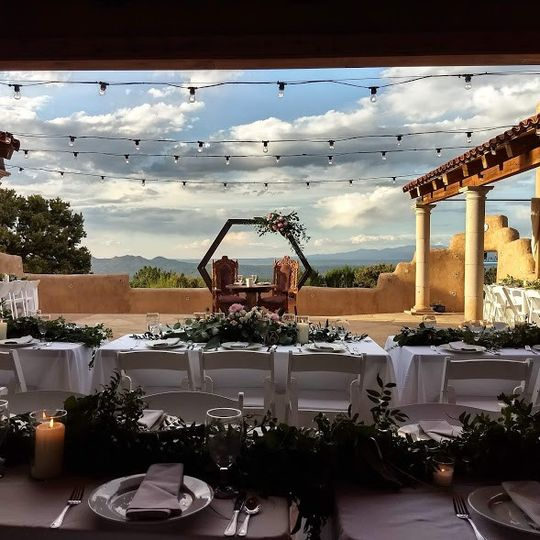 Reception at Dona Hacienda And
