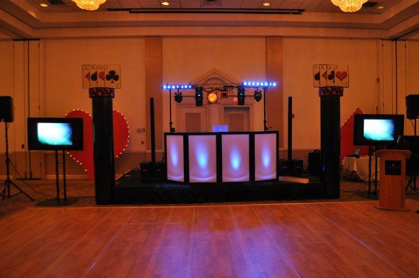 """One of our Intelligent Lighting packages with 52"""" LCD screens."""