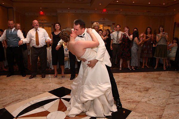 Andrew and Melissa Gorski.  A nice romantic moment created by Affair 2 Remember DJ's!