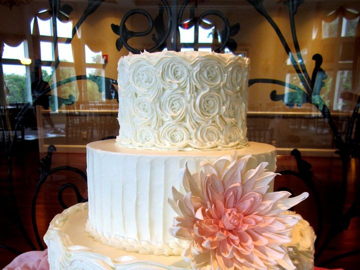 Tmx 1410009706840 Jessica Halliley Williamson wedding cake