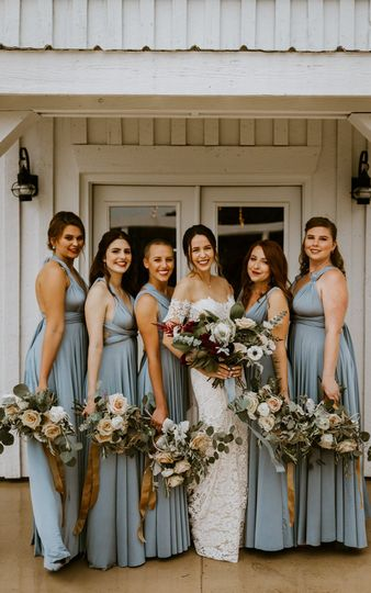 Bridal bouquet, Tatum Acres
