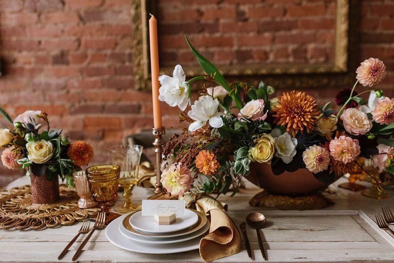 Fall wedding in North Georgia