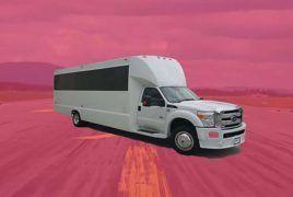 26 Passenger Tiffany Luxury Limousine Party Bus