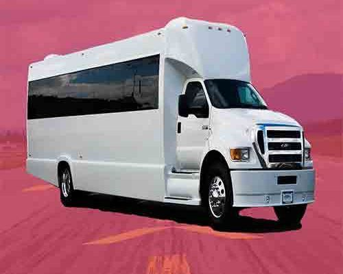 50 Passenger Tiffany Luxury Limousing Party Bus
