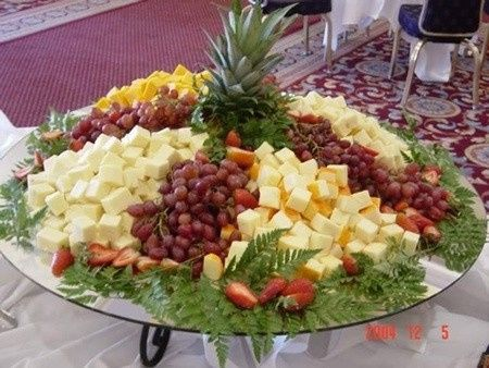 Tmx 1439485074074 Fruit And Cheese Platter Sacramento wedding catering