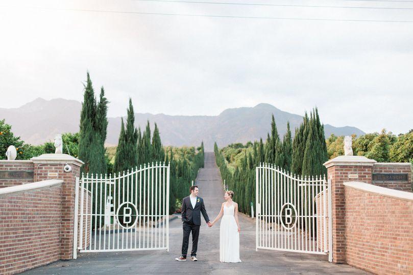 Iconic entrance gates