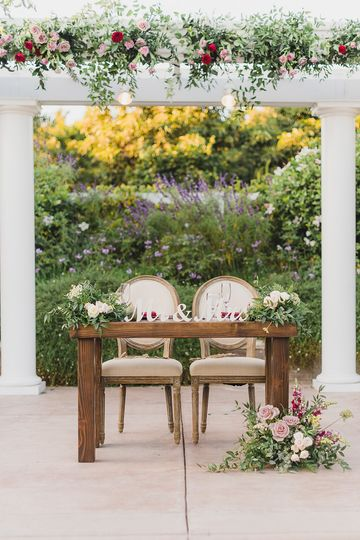 Tuscan Sweetheart Table