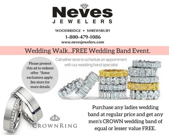 purchase any ladies wedding band at regular price