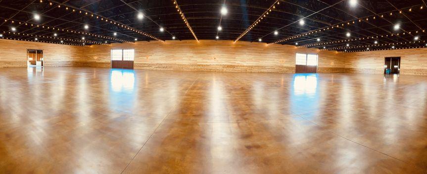Inside the ballroom