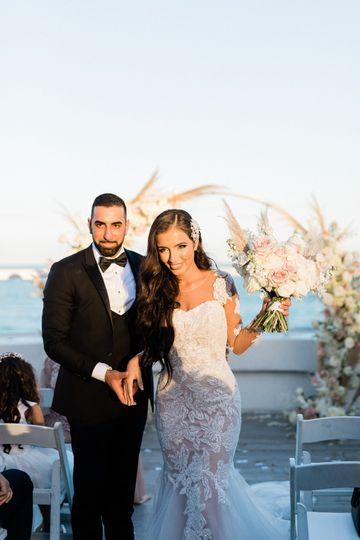 Groom+bride