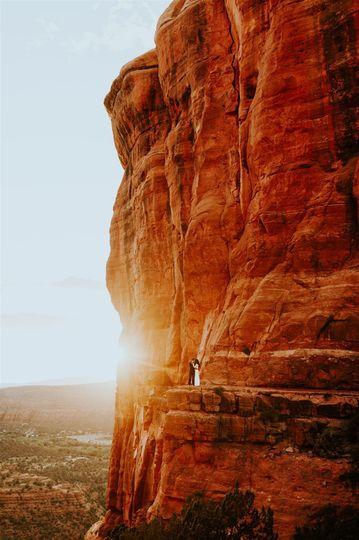Sedona Sunset Elopement