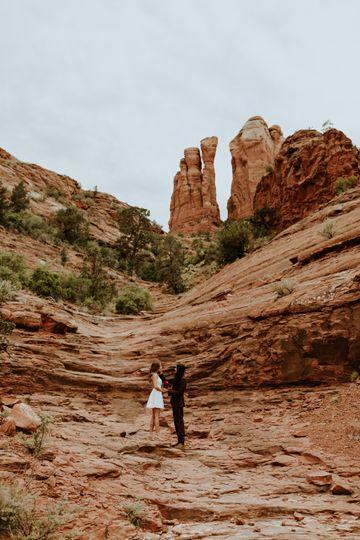 Nature Sedona elopement