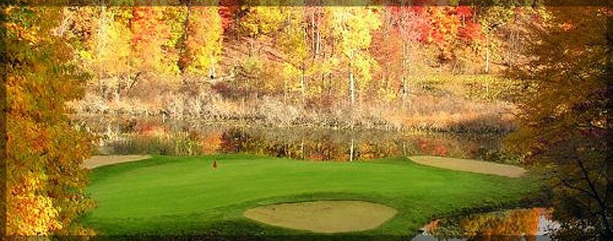 Fall at the course