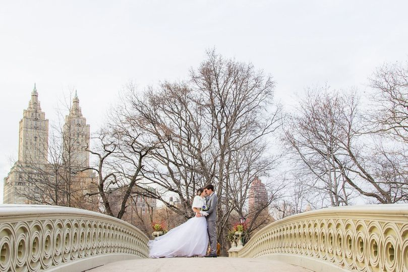 central park wedding elopement photography