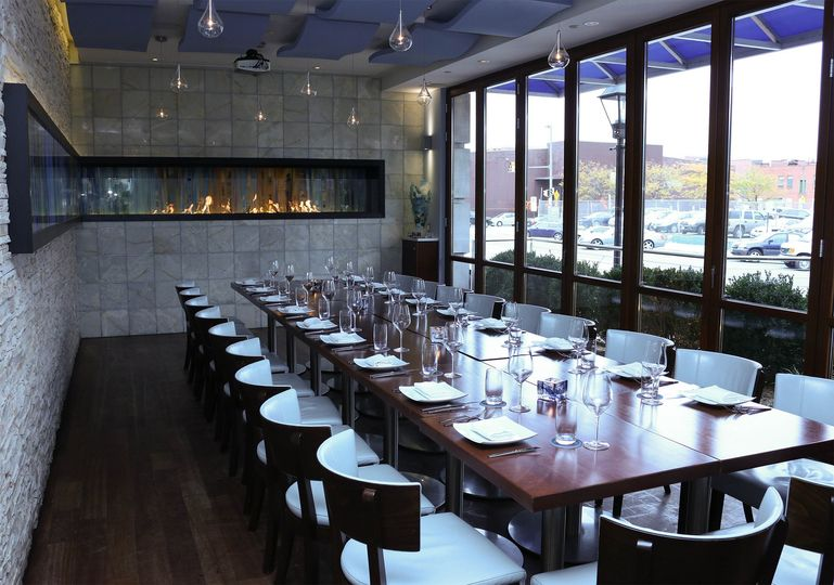 Ouzo bay greek kouzina map ouzo bay greek kouzina for Best private dining rooms in baltimore