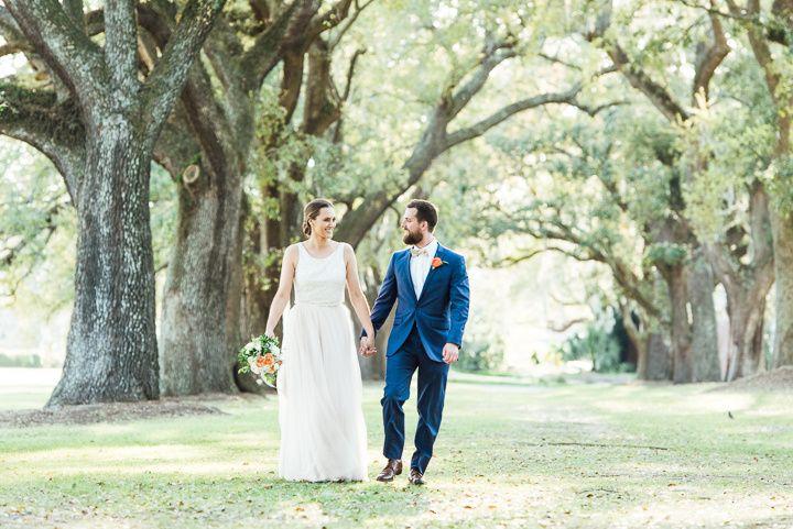 McLeod Plantation wedding