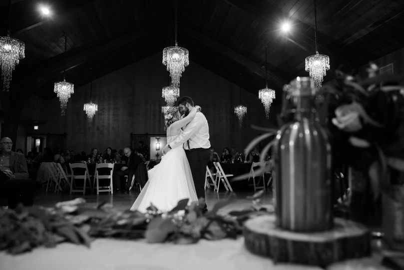 A perfect first dance