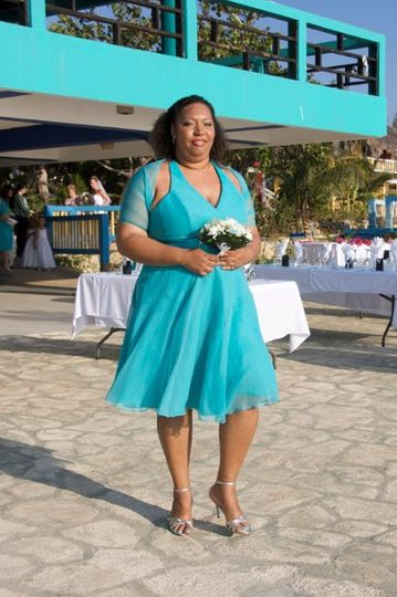 April 2009 - Jamaica destination wedding makeup & hair for tomlinson-spinner (sister-in-law)