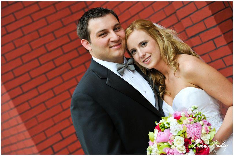 June 2010 - Washington DC wedding makeup & hair for Thomas-Riccio (bride & groom)