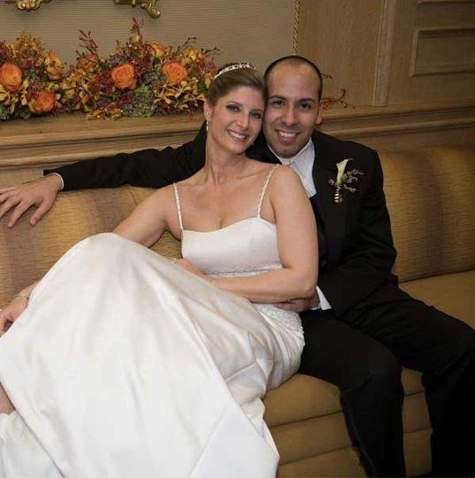 October 2008 - Arlington, VA wedding makeup for Brown-Gomez (bride & groom)