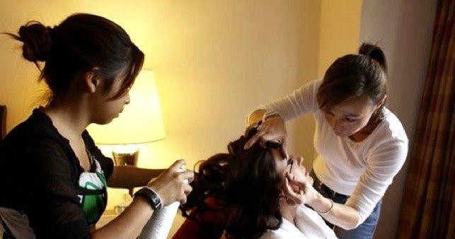 October 2010 - Bethesda, MD wedding makeup for Ryan-Shaut (bride)