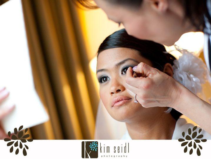 March2010 - Arlington, VA wedding makeup for Espiritu-Baskin (bride)