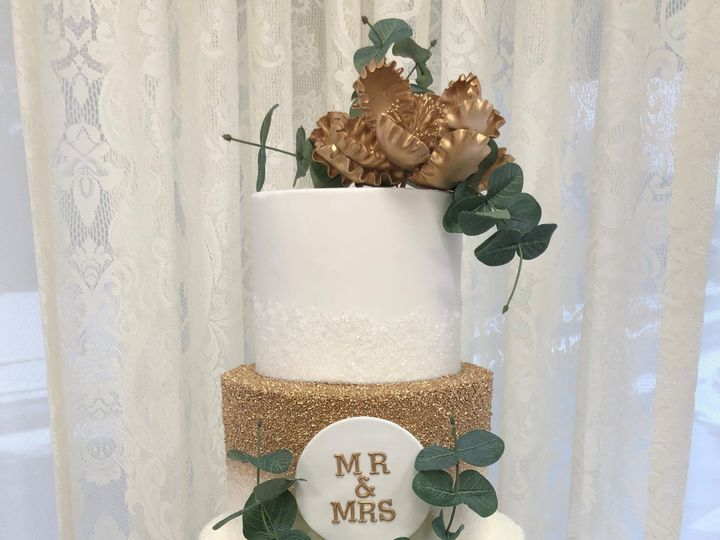 Tmx Gold Crystal Sugar 51 1052203 157737593358005 Haledon, NJ wedding cake