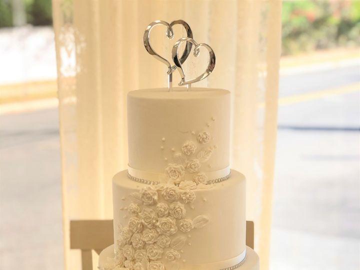 Tmx Rose Applique Wedding Cake 51 1052203 157737612658687 Haledon, NJ wedding cake