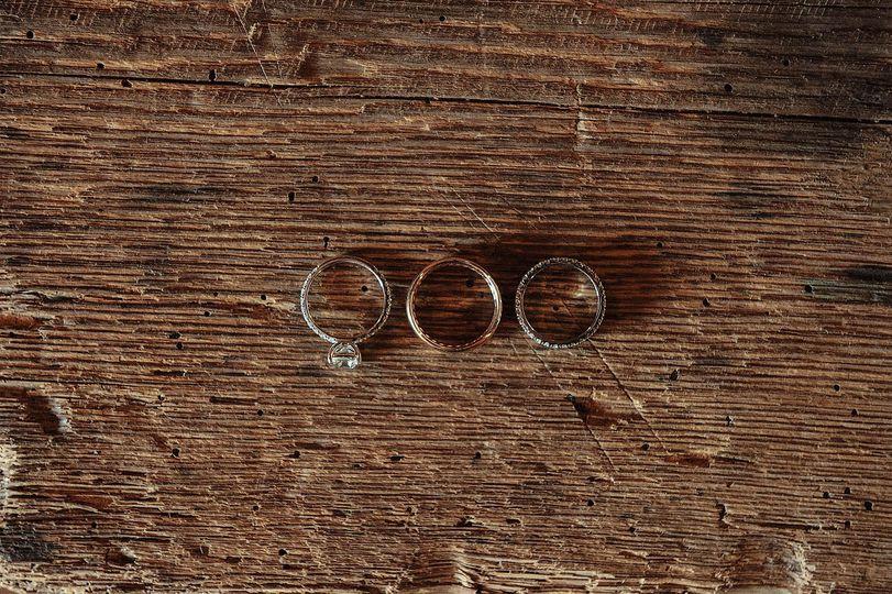 rustic ring shot