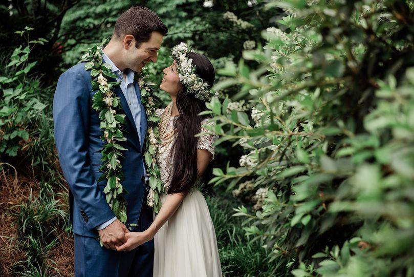 atlanta ga backyard wedding
