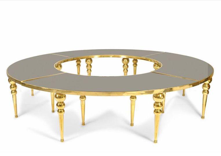 Dubai Serpentine Table