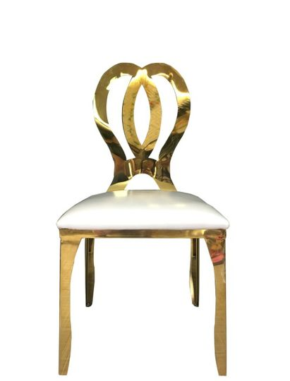 Infinity gold chair