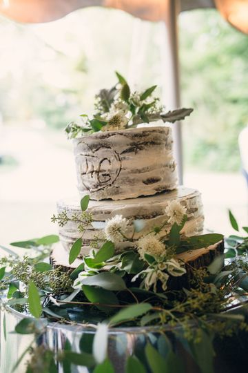 Oak Tree Wedding Cake