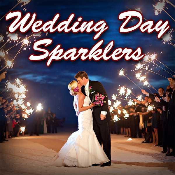 Wedding Day Sparklers
