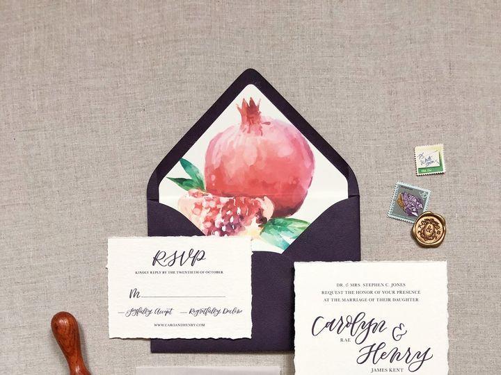 Tmx Carolyn Suite 1 51 1005203 Dallas, TX wedding invitation