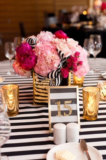 Stripped linens