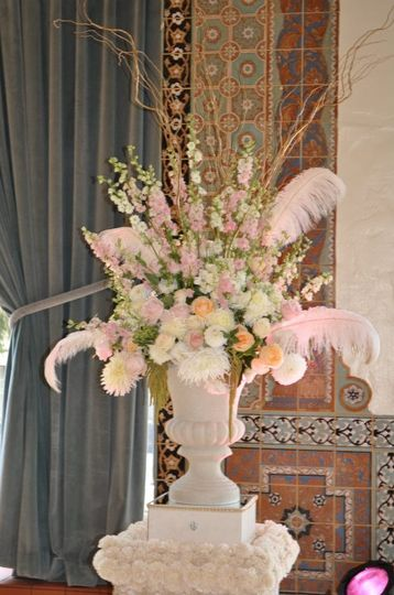 Flowers and feathers