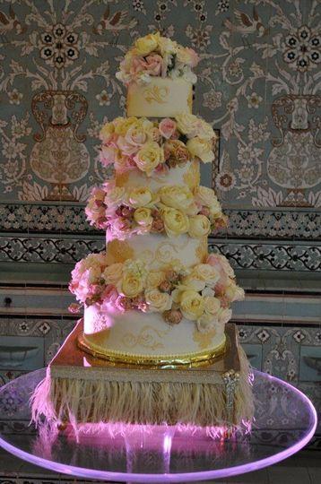 Tired cake