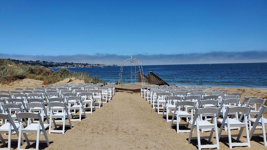Crocker's Cove Beach Ceremony
