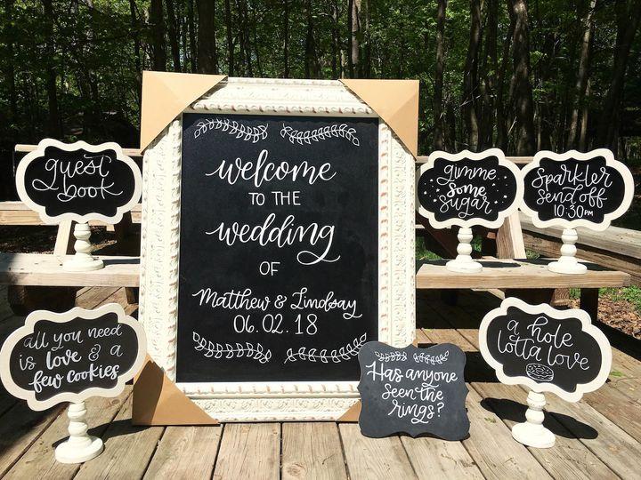Wedding Signage Set