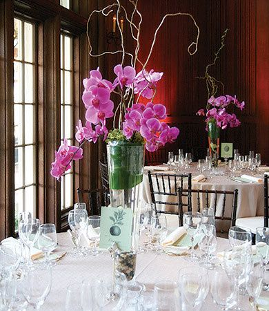 centerpiece reception flowers