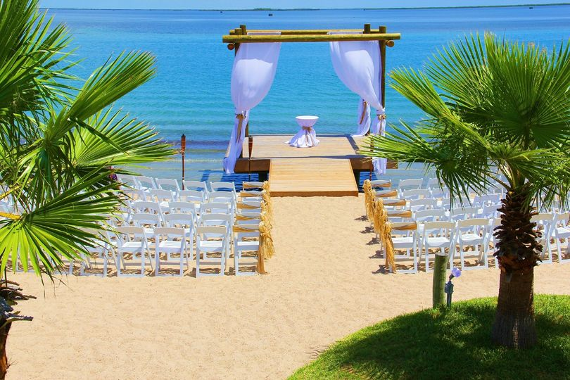 Mansion by the sea l l c venue aransas pass tx for Texas beach wedding packages