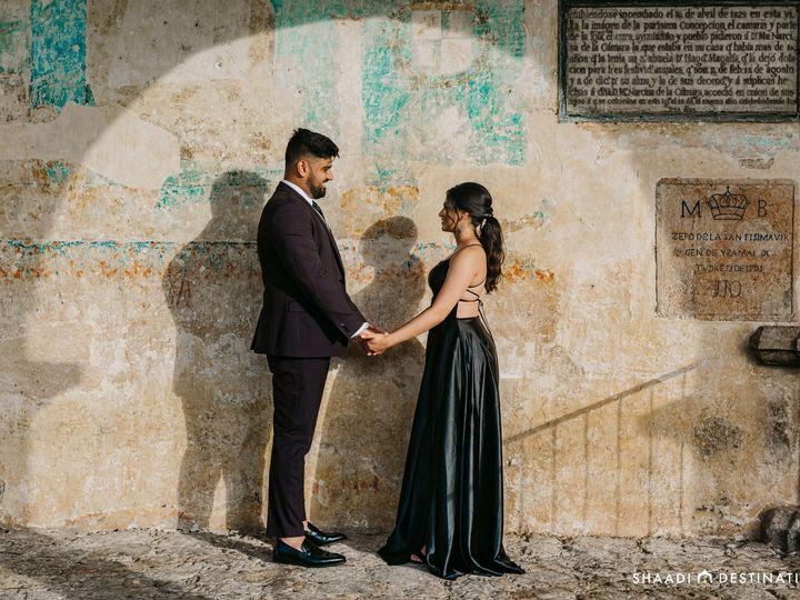 Tmx Ishani Patel And Jay Patel Izamal Engagement Shoot Indian Destination Wedding 26 51 1008203 160866646526595 Dallas wedding travel