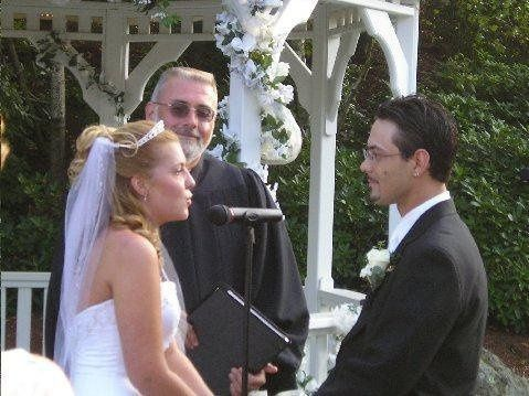 Reciting of the vows