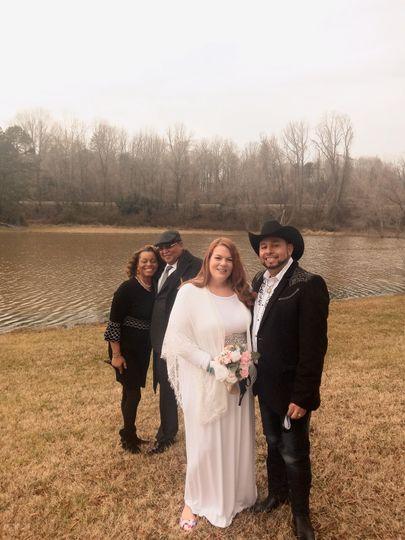 Waterview wedding
