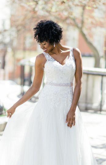 Bride in the winter