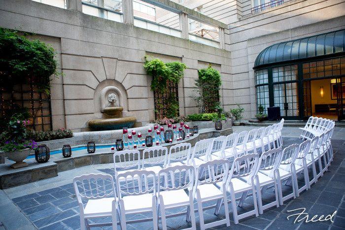 Tmx 1421852936338 Courtyard Ceremony Washington, DC wedding venue